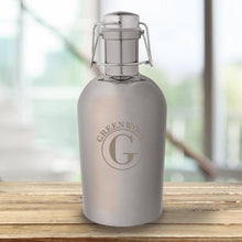 Load image into Gallery viewer, Personalized Gunmetal Growler -Metal | JDS