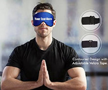 Load image into Gallery viewer, Custom Personalized Designed Sleeping Mask | DG Custom Graphics