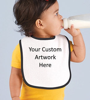 Custom Design Your Baby's Bib.