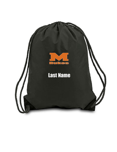 Custom Personalized Drawstring Backpack. Great For School Or College. | DG Custom Graphics
