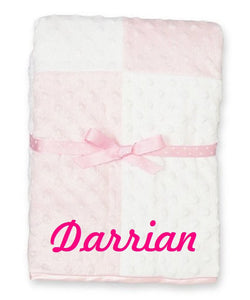 Custom Personalized Monogrammed/embroidered Baby Blanket | DG Custom Graphics