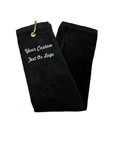 Custom Personalized Monogrammed/Embroidered Golf Towels