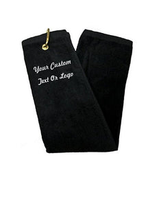 Custom Personalized Monogrammed/Embroidered Golf Towels | DG Custom Graphics