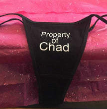 Load image into Gallery viewer, Custom Personalized Designed Thong Bikini For Weddings, Bachlorette Or Gifts