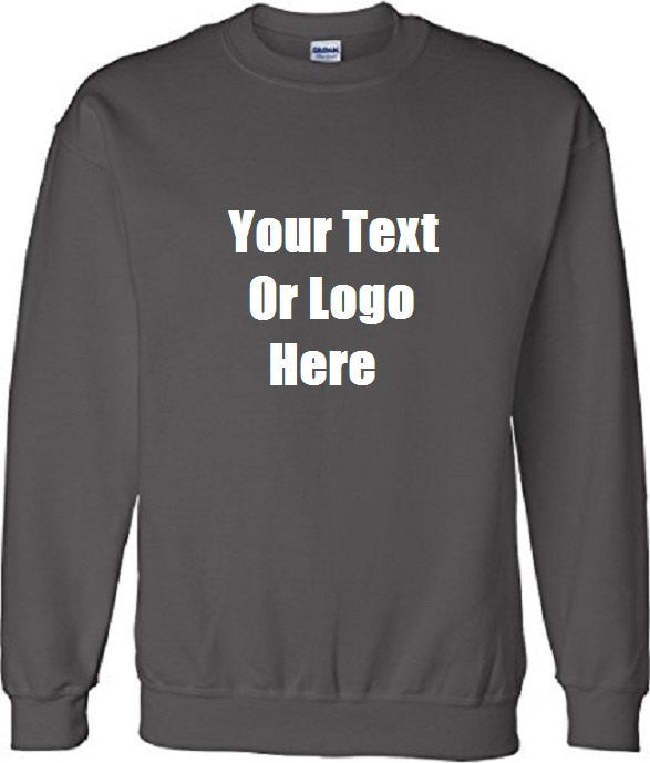 Custom Personalized Design Your Own Sweatshirt