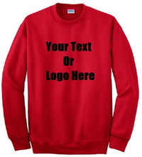 Load image into Gallery viewer, Custom Personalized Design Your Own Sweatshirt | DG Custom Graphics