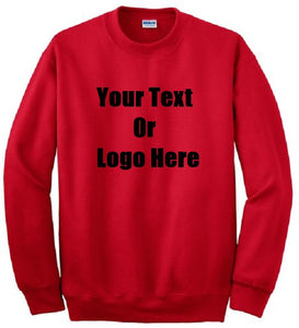 Custom Personalized Design Your Own Sweatshirt | DG Custom Graphics