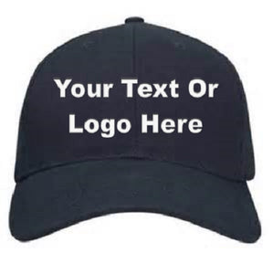 Custom Personalized Design Your Own Baseball Cap | DG Custom Graphics