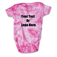 Load image into Gallery viewer, Custom Personalized Baby Tie-dye Infant Body Suit (creeper, Romper)