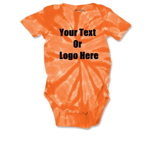 Custom Personalized Baby Tie-dye Infant Body Suit (creeper, Romper) | DG Custom Graphics