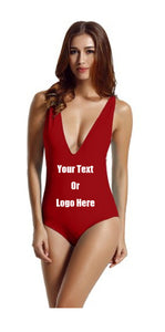 Custom Personalized Designed One Piece Bathing Swim Suit | DG Custom Graphics