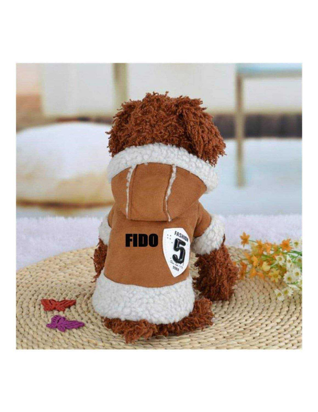 Custom Personalize Design Your Winter Dog Coat (pet Clothing)