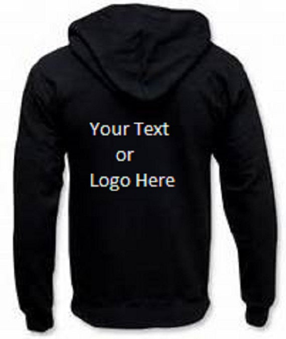 Custom Personalized Zip-up Hoodie Sweatshirt | DG Custom Graphics