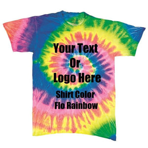 Custom Designed Personalized Tie Die T-shirts | DG Custom Graphics