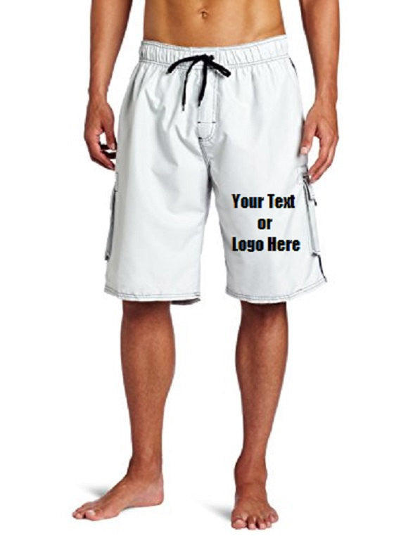 617a2ff7d8 ... Load image into Gallery viewer, Custom Personalized Designed Swim Trunks  | DG Custom Graphics ...