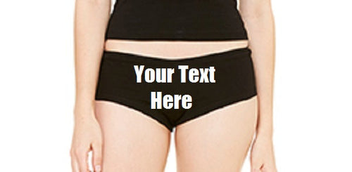 Custom Personalized Designed Panties For Weddings, Bachlorette Or Special Occasions