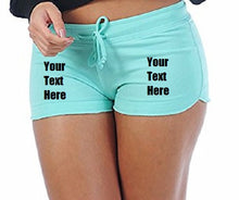 Load image into Gallery viewer, Custom Personalized Designed Sexy Yoga Booty Shorts | DG Custom Graphics