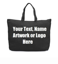 Custom Personalized Cotton Canvas Tote Bag
