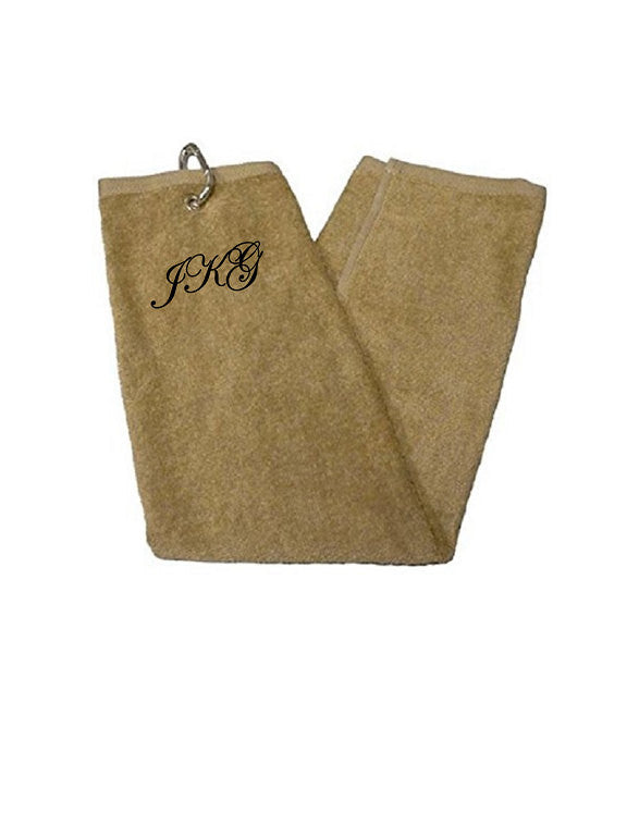 ... Custom Personalized Monogrammed/Embroidered Golf Towels
