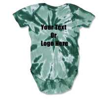 Custom Personalized Baby Tie-dye Infant Body Suit (creeper, Romper)