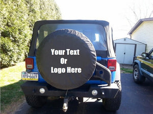 Custom Personalized Tire Cover With Full Color Artwork | DG Custom Graphics