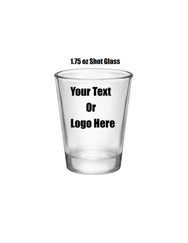 Custom Personalized Designed Shot Glasses | DG Custom Graphics