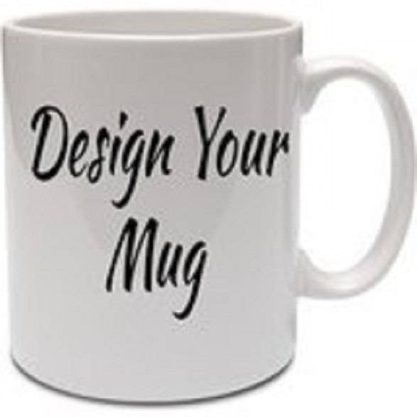 Custom Designed Mugs With Your Personal Text Or Business Logo
