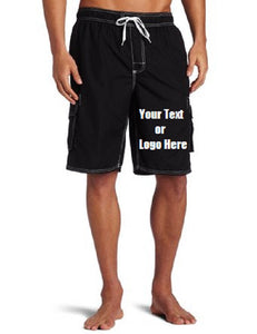 Custom Personalized Designed Swim Trunks
