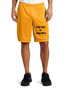 Custom Personalized Designed Men's Long Mesh Short With Pockets | DG Custom Graphics