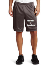 Load image into Gallery viewer, Custom Personalized Designed Men's Long Mesh Short With Pockets | DG Custom Graphics