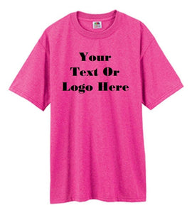 Custom Personalized Design Your Own T-shirt (lot Of 100) | DG Custom Graphics