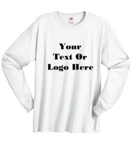 Custom Personalized Design Your Own Long-sleeve T-shirt