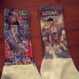 Custom Personalized Men's Cushioned Socks with your Logo, Artwork or Picture. | DG Custom Graphics