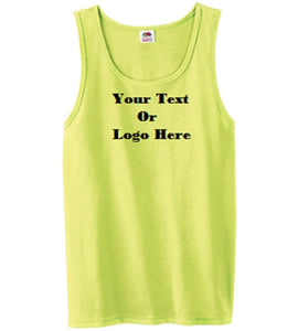 Custom Personalized Design Your Own Tank Top | DG Custom Graphics