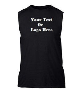 Custom Personalized Design Your Own Sleeveless Tee