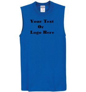Custom Personalized Design Your Own Sleeveless Tee | DG Custom Graphics