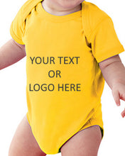 Load image into Gallery viewer, Custom Personalized Baby Body Suit (creeper, Romper)