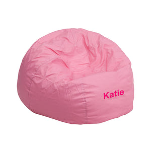 Custom Designed Bean Bag Chair for Kids or Adult's With Your Personalized Name
