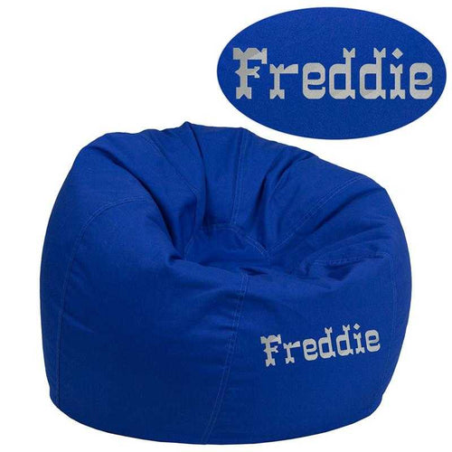 Custom Designed Bean Bag Chair for Kids or Adultu0027s With Your Personalized Name  sc 1 st  DG Custom Graphics & Furniture u2013 Tagged
