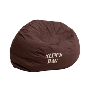 Custom Designed Bean Bag Chair for Kids or Adult's With Your Personalized Name | DG Custom Graphics