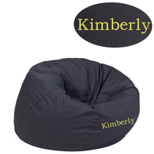 Load image into Gallery viewer, Custom Designed Bean Bag Chair for Kids or Adult's With Your Personalized Name | DG Custom Graphics