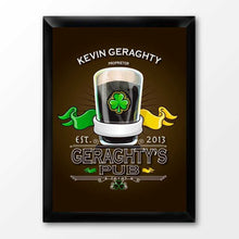 Load image into Gallery viewer, Personalized Irish Bar Signs | JDS
