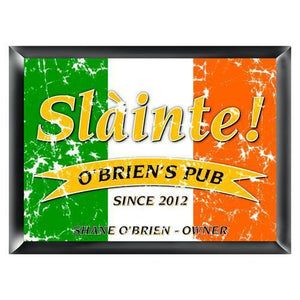 Personalized Irish Bar Signs | JDS