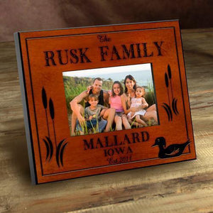 Personalized Cabin Series Picture Frames | JDS