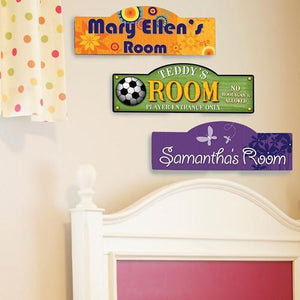 Personalized Signs - Girl's Room - Multiple Designs | JDS