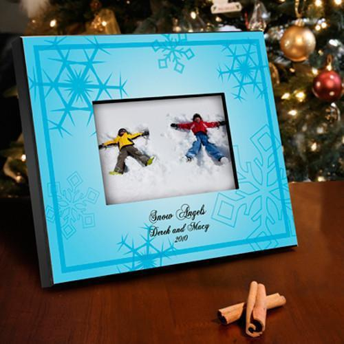 Personalized Le Bleu Snowflake Frame | JDS