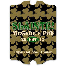 Load image into Gallery viewer, Personalized Irish Themed Vintage Sign | JDS