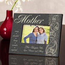 Load image into Gallery viewer, Personalized Pretty Paisley Frame | JDS