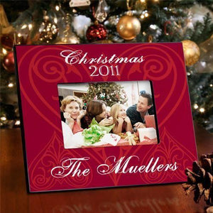 Personalized Christmas Picture Frame - All | JDS