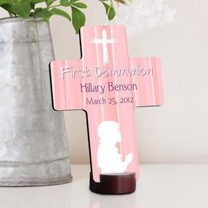Personalized First Communion Cross for boys and girls | JDS
